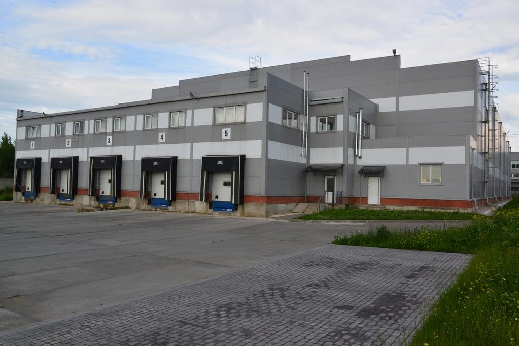 Здание фабрики офисной мебели в Туле